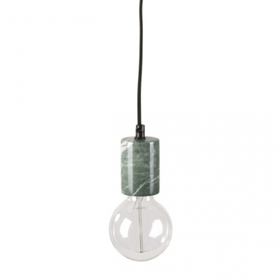 Lampa sufitowa z marmuru - KOLV - zielona