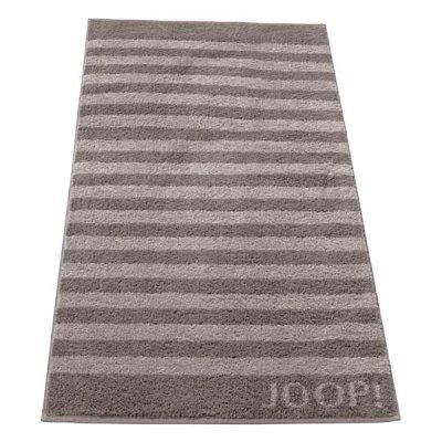 Ręcznik Joop! Classic Stripes - szaro-beżowy