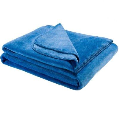 Koc Moca Design Soft Line - niebieski