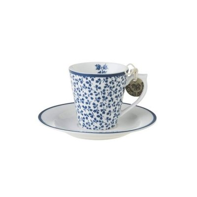 Laura Ashley BLUEPRINT - filiżanka do espresso 80 ml - FLORIS