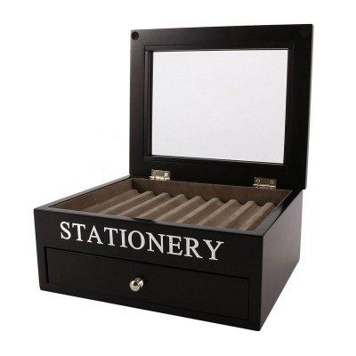 Pudełko na biżuterię - STATIONERY - czarne