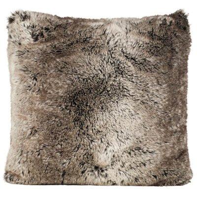 Poduszka futrzana Winter Home - Yukonwolf - 60x60 cm