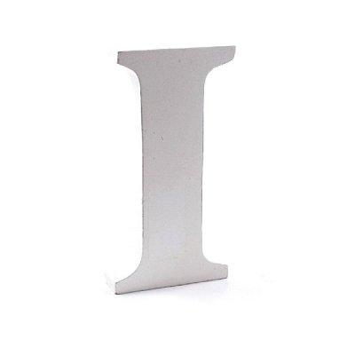 Litera dekoracyjna duża - I - biała