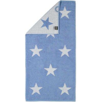 Ręcznik Cawo Stars Big - niebieski