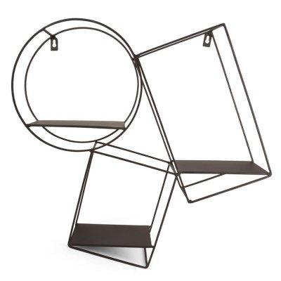 Półka metalowa - 51.5x12x49 cm