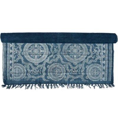 Dywan Belldeco EcoEtno - Ornament - niebieski 120x180 cm
