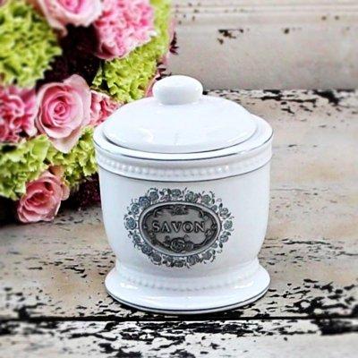 Pojemnik ceramiczny Chic Antique - SAVON