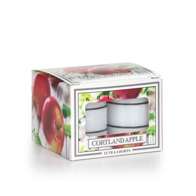CORTLAND APPLE - tea light box KRINGLE CANDLE