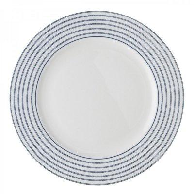 Laura Ashley BLUEPRINT - talerz obiadowy 26 cm - CANDY STRIPE