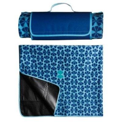 Koc piknikowy Sagaform - Happy Blanket - niebieski