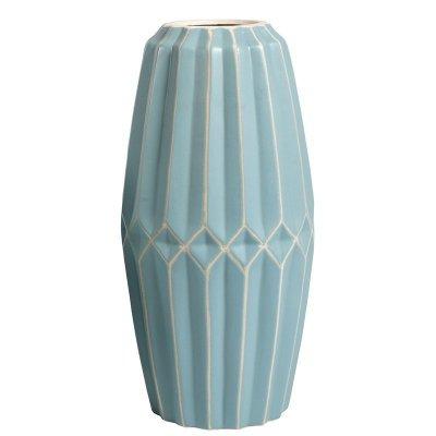 Wazon Belldeco Pastel - niebieski - wysokość 37,3 cm