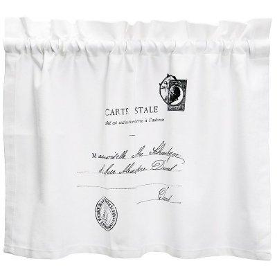 Zazdrostki French Home - Carte Postale - białe - 70 cm