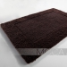 Dywanik łazienkowy Moca Design - Frame - brązowy