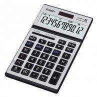 Kalkulator Casio, JS 120 TVS, srebrna