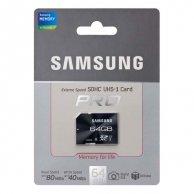 Samsung SDHC Travelcadr, 64GB, SDXC, MB-SGCGB/EU, Class 10, do archiwizacji danych