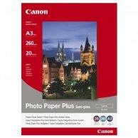 Canon Photo Paper Plus Semi-G, foto papier, półpołysk, satynowy, biały, A3, 260 g/m2, 20 szt., SG-201 A3, atrament