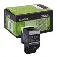 Lexmark oryginalny toner 70C20K0, black, 1000s, return, Lexmark CS510de, CS410dn, CS310dn, CS310n, CS410n