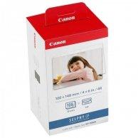 Canon foto papier, połysk, biały, CP100, 220, 300, 330, 400, 500, 520, 600, 710, 10x15cm, 4x6, 108 szt., KP108IN, termosublimacyj