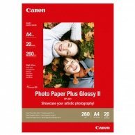 Canon Photo Paper Plus Glossy, foto papier, połysk, biały, A4, 260 g/m2, 20 szt., PP-201 A4, atrament