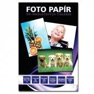 No Name Papier fotograficzny, foto papier, połysk, biały, 10x15cm, 4x6, 230 g/m2, 20 szt., atrament