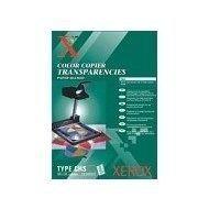 Xerox, folia, przezroczysta, A4, 100szt., do czarno-białych drukarek laserowych oraz kopiare, 3R98199