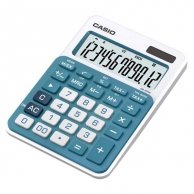 Kalkulator Casio, MS 20 NC, niebieska