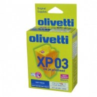Olivetti oryginalny ink B0261, CMYK, 260s, Olivetti ArtJet 10, 12, 22, OFX-800, Jet-Lab 600