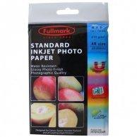 Fullmark Standard Inkjet Photo P, foto papier, połysk, biały, 10x15cm, 4x6, 210 g/m2, 4880dpi, 20 szt., atrament