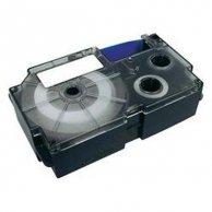Casio taśma do drukarek etykiet, XR-6YW1, czarny druk/żółty podkład, nielaminowany, 8m, 6mm