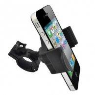Uchwyt telefonu komórkowego na deskę rozdzielczą, czarny, plastikowy, No Name