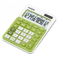 Kalkulator Casio, MS 20 NC, zielona