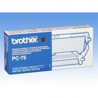 Brother oryginalny folia do faxu PC75, 1*140str., Brother Fax T-104, T-106