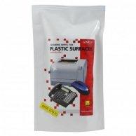 Środki czyszczące chusteczki jednorazowe do plastiku, uzupełnienie, 100szt., LOGO
