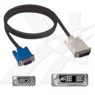 Video Kabel DVI(18+5)-VGA(D-sub), M/M2m, No Name
