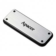 Apacer USB Flash Drive, 2.0, 16GB, AH328 16GB Flash Drive, srebrny, AP16GAH328S-1