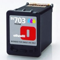 Olivetti oryginalny ink B0632, cyan/magenta/yellow, 7ml, Olivetti Olivetti Linea Office/Olivetti Linea Office Wifi