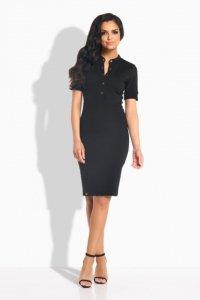 1 L191 Sukienka czarny PROMO