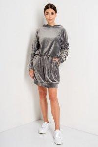 Sukienka L404 grafit