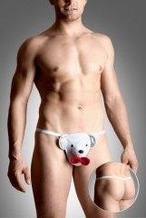 Mens thongs 4492 - white