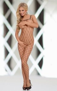 Wild - Black 6234 bodystocking