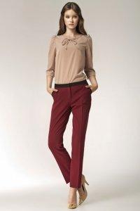 Spodnie - bordo - SD07