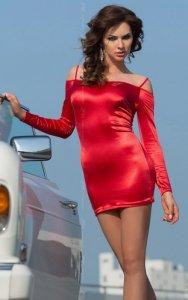 xTyler - red 1750 sukienka mini