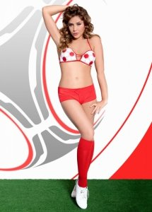 xViktoria - white-red kibic EURO