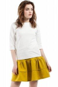 MOE216 Spódnica limonkowa