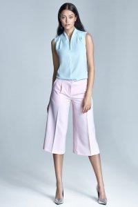 Spodnie culottes  - róż - SD24