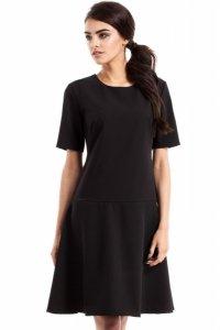 MOE227 Sukienka czarna