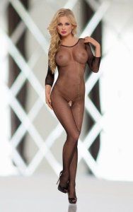 Netty 6221 - Black bodystocking