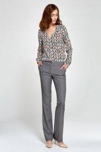Spodnie bootcut - szary - SD29