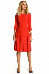 M336 sukienka czerwona