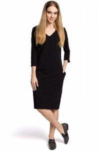 M371 Sukienka czarna